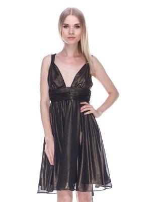 Сукня чорно-золотиста | 3478042