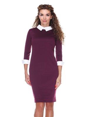 Платье бордовое | 3068013