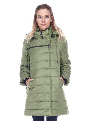 Пальто зелене | 3476666