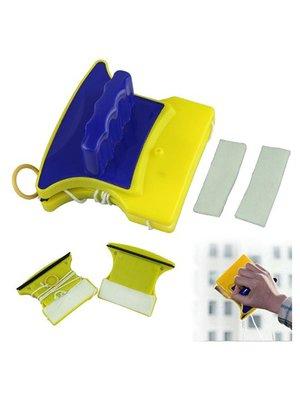 Магнітна щітка для миття вікон з двох сторін Glass Wiper | 3498380