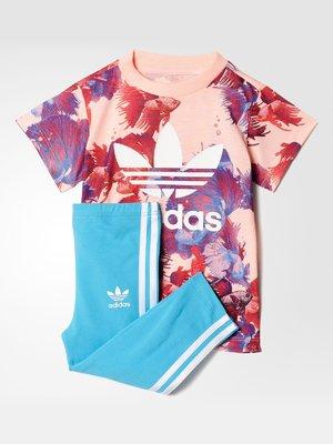 Костюм спортивный: футболка и леггинсы | 3478182