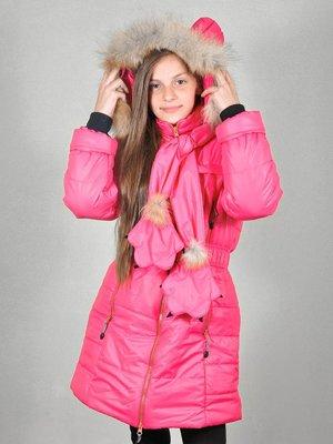 Комплект: пальто і шарф | 3271802