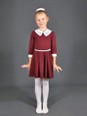 Платье бордовое | 3271968