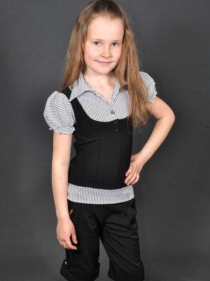 Блуза в смужку | 3435547
