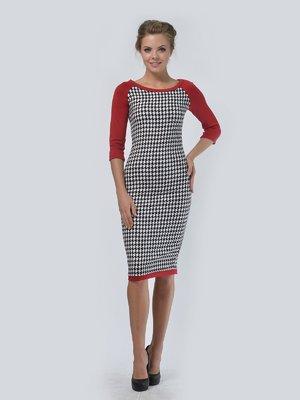 Платье комбинированной расцветки | 3505411