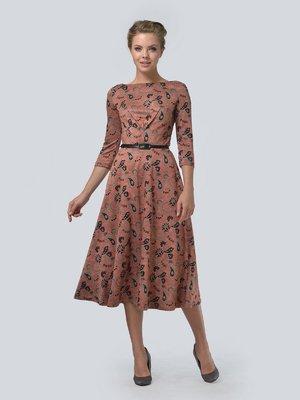 Платье комбинированной расцветки   3505453