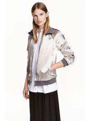 Куртка срібляста | 3401327