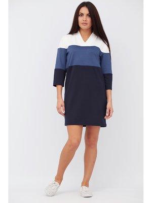 Платье трехцветное | 3508712
