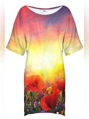 Сукня у принт-пейзаж | 3510143