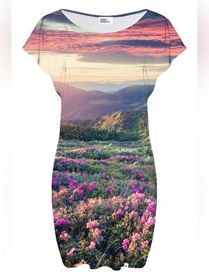 Сукня у принт-пейзаж | 3510857