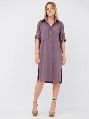 Платье сливового цвета | 3511241
