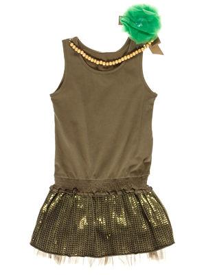 Платье цвета хаки | 3507767