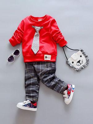Костюм: джемпер, галстук и брюки   3514940
