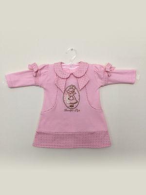 Сукня рожева з малюнком | 3514944