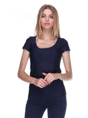 Блуза темно-синя | 404499