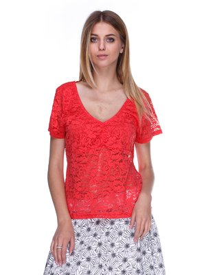 Блуза коралова | 3044966