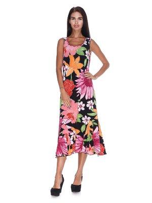Платье с цветочным принтом | 3491183