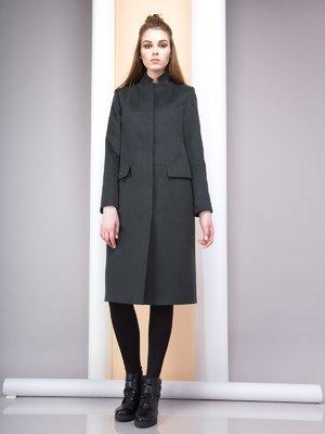 Пальто серо-зеленое | 3103384
