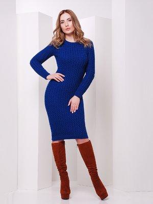 Сукня кольору електрик | 3522027