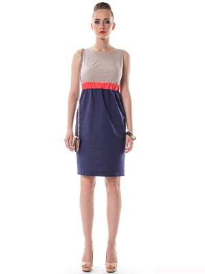 Платье трехцветное | 1754077