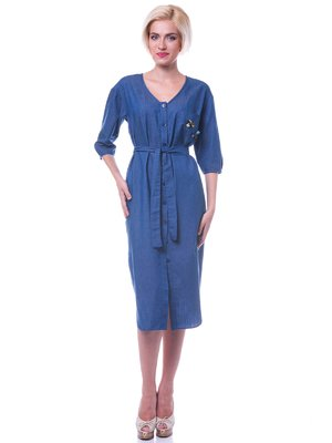 Платье синее - Evercode - 2579036