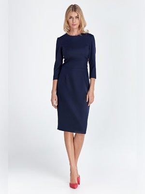 Платье темно-синее | 3523949