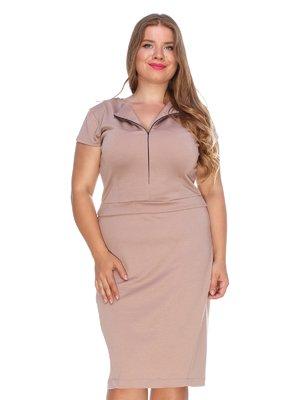 Платье бежевое | 3352800