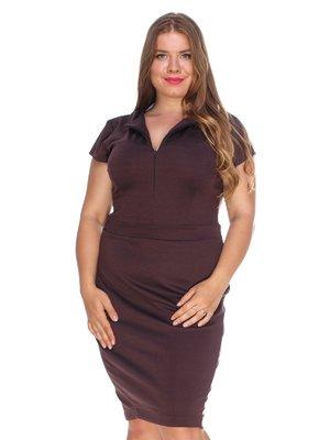 Платье коричневое | 3352795