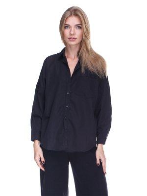 Рубашка черная | 3514657