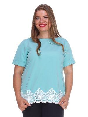 Блуза м'ятного кольору | 3328745