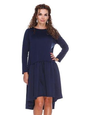 Платье темно-синее | 3086341