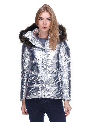 Куртка серебристая | 3514646