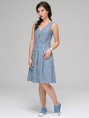 Платье в полоску | 3527633