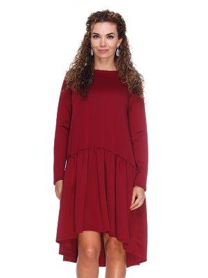 Платье цвета марсала | 3086340