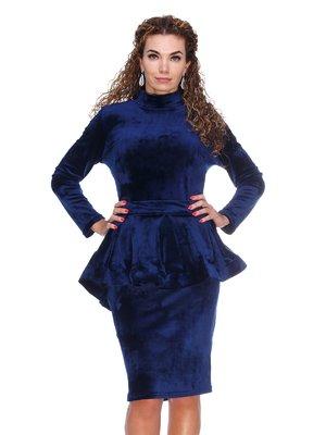 Платье темно-синее | 3086335