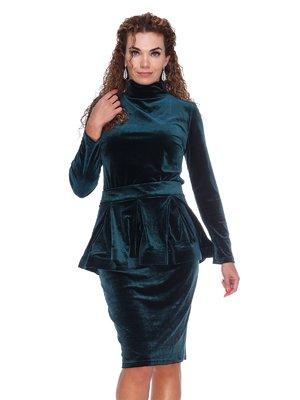 Платье изумрудное | 3086337