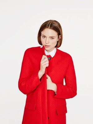Пальто красное | 2751778