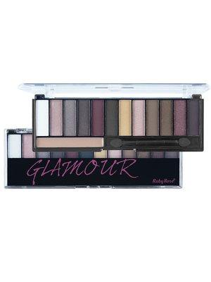 Тіні для повік Glamour з праймером (17,5 г) | 3529199