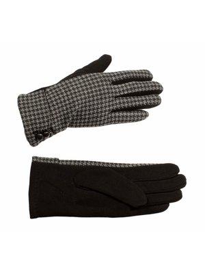 Рукавички сіро-чорні | 3529330