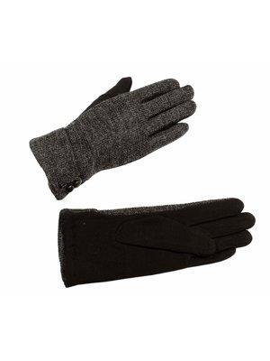 Рукавички чорно-сірі | 3529439
