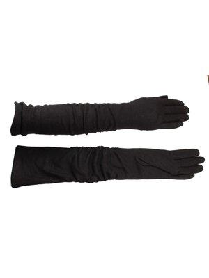 Рукавички чорні кашемірові | 3529527