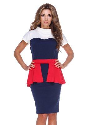 Платье трехцветное | 2820303