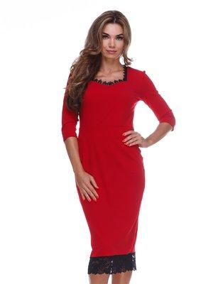 Платье красное | 3086304