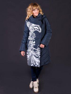 Пальто графитового цвета | 3485544