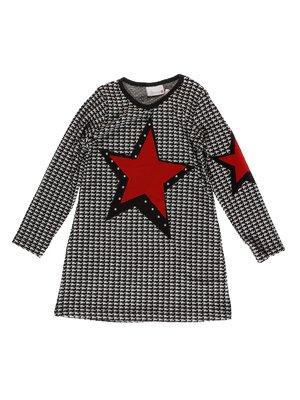 Сукня сіра з аплікацією   3515092