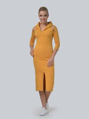 Сукня гірчичного кольору | 3540284