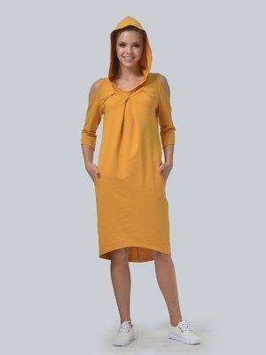 Сукня гірчичного кольору | 3540304