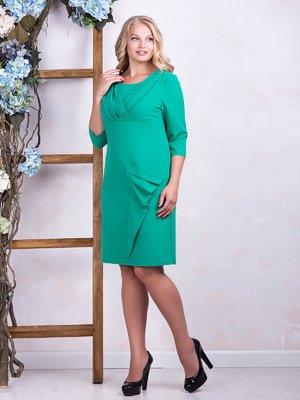 Платье бирюзовое - ALL POSA - 3544242
