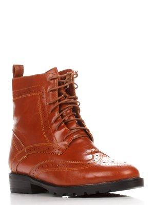 Ботинки рыжего цвета   3529077