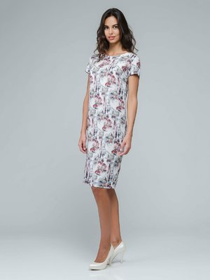 Платье в оригинальный принт | 3545213